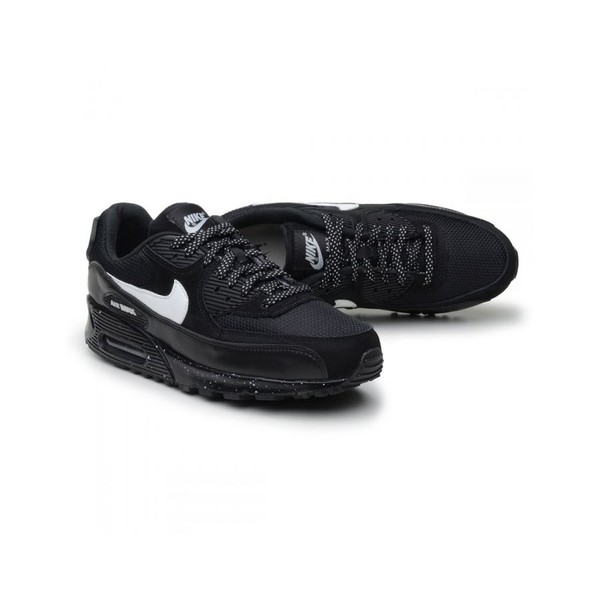 TÊnis Air Max 90 Preto Chuvisco - Original
