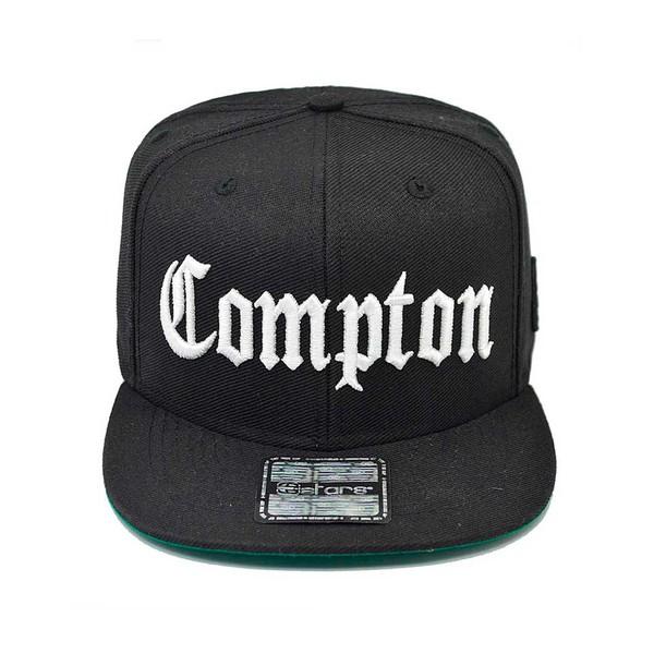 Boné Snapback E-STARS Compton Preto