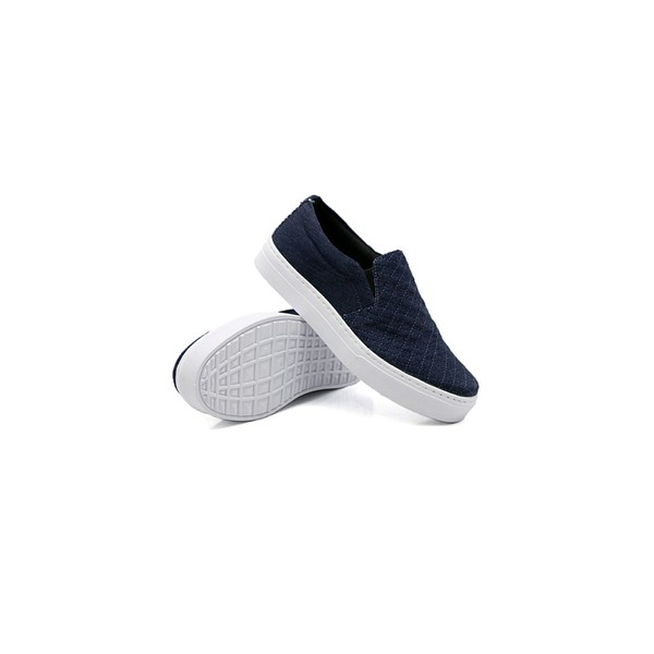 Slip On Matelassê Infantil Jeans DKShoes