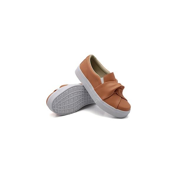 Slip On Nó Infantil Laranja Papaya DKShoes