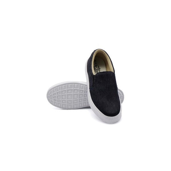 Slip On Liso Infantil Jeans DKShoes