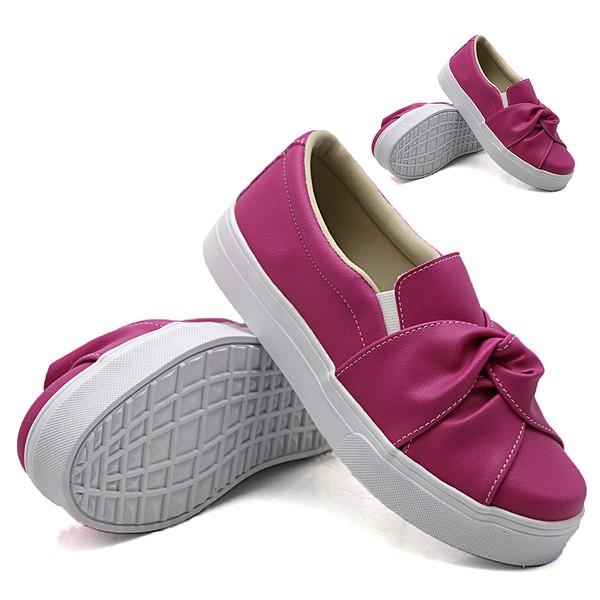 Tal mãe, tal filha: Slip On Nó Pink DKShoes