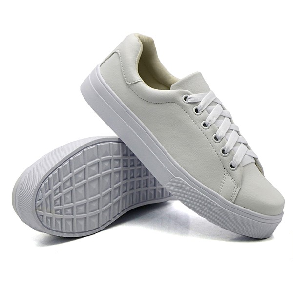 Tênis Casual Pietra Branco DKShoes