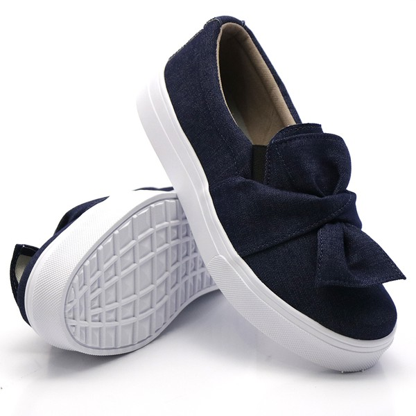 Slip On Laço Jeans DKShoes