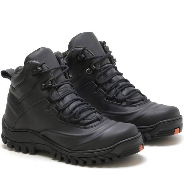 Bota Adventure Rota Shoes Preto Emborracho 100% Couro