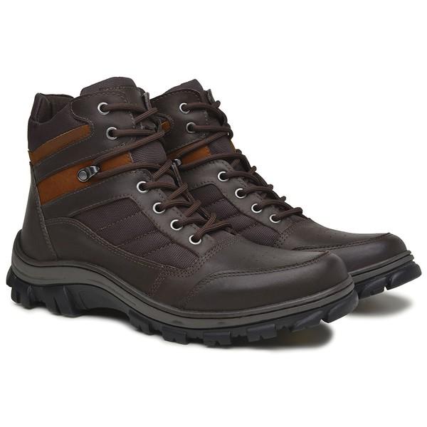 Bota Adventure Lock Confort Marrom Café Rota Shoes
