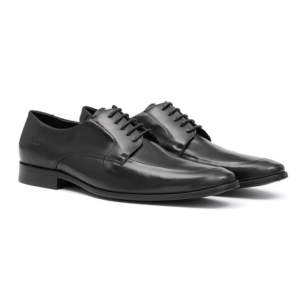 Sapato Social Masculino Cruze Preto Samello