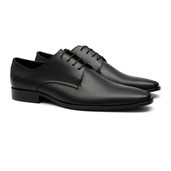 Sapato Clássico Masculino Oxford Cerro Preto Samello