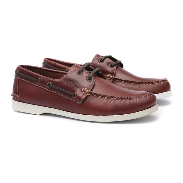 Deckshoes Masculino Jery Pull Up Old S/B Samello