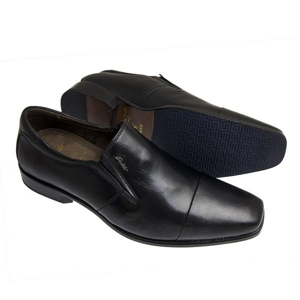 Sapato Social Sândalo Premium Elástico Preto