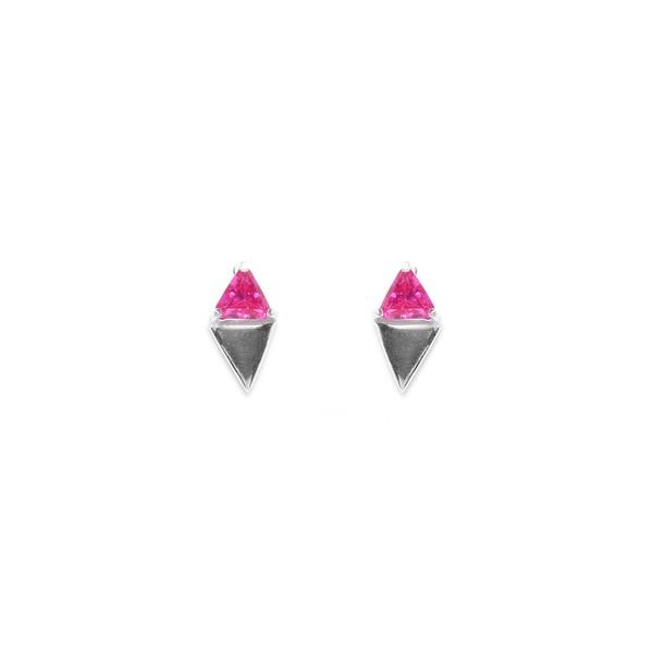 Brinco Prisma Triângulo Pequeno | Coleção Prisma