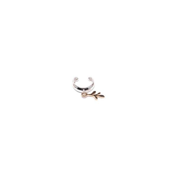Piercing De Pressão Em Prata 925 - Arruda Silver | Coleção Tribus