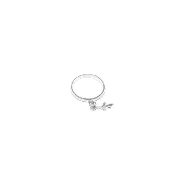 Anel Skinny em Prata 925 - Berloque de Arruda | Coleção Tribus