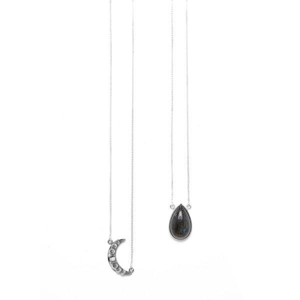 Escapulário Gabriela | Coleção Cristal Moon