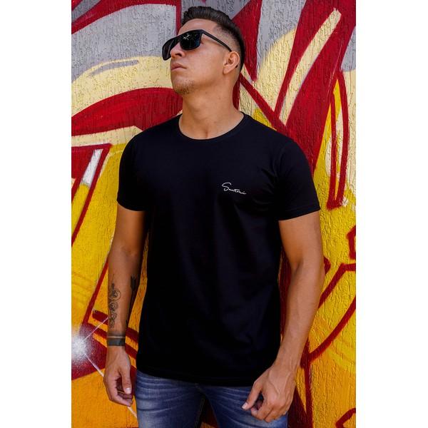 T-shirt Classica Black/Silver