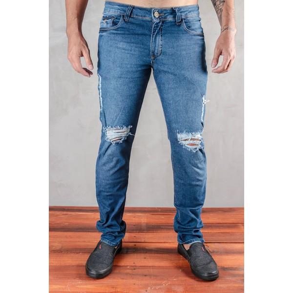 Calça Jeans Santorini Destroyed 1664