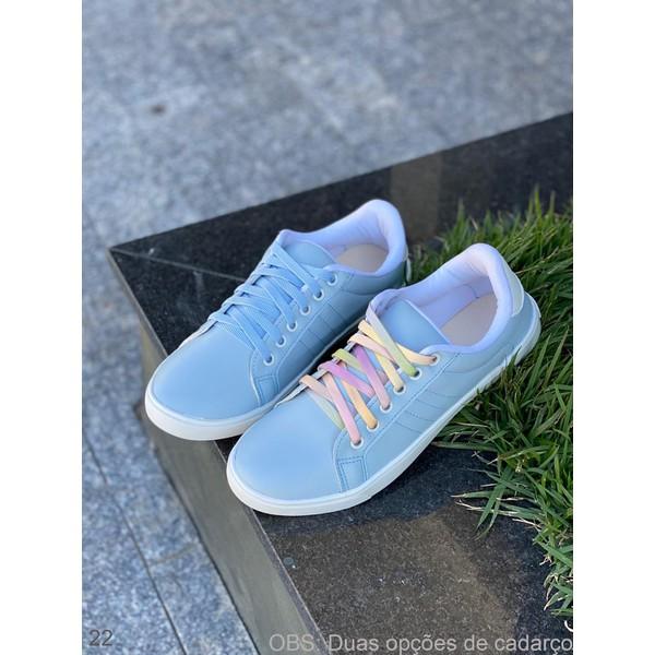 Tênis Azul Cad. Azul E Color