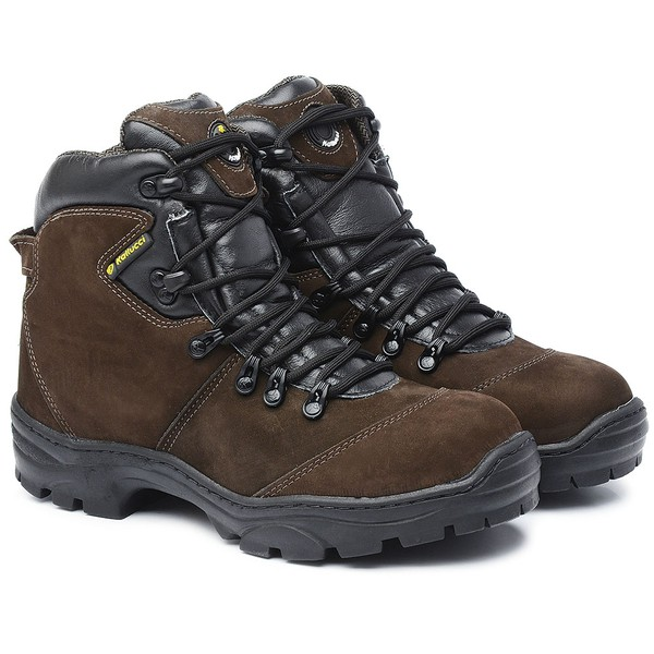 Bota Adventure Cano Alto Everest Marrom