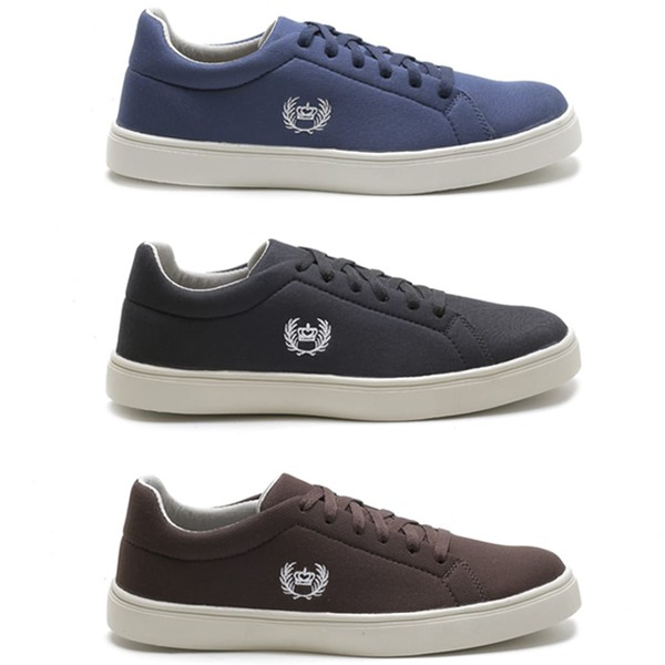 Combo 3 Pares Sapatenis Casual