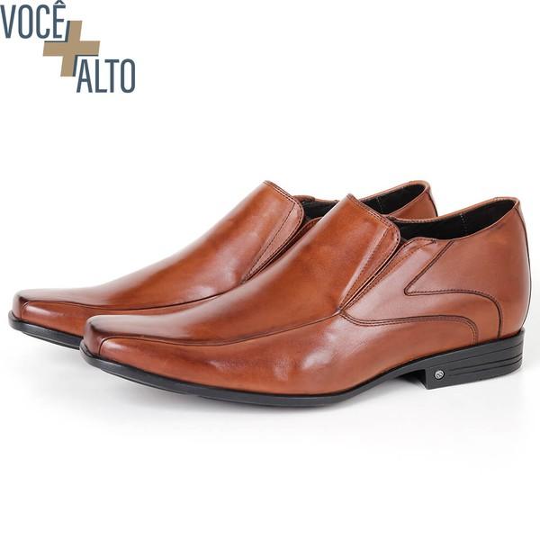 Sapato Up de Calçar em Couro Bronze Savelli
