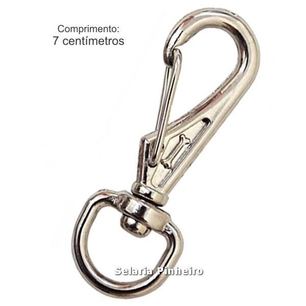 Mosquetão Cromado M (7 cm)