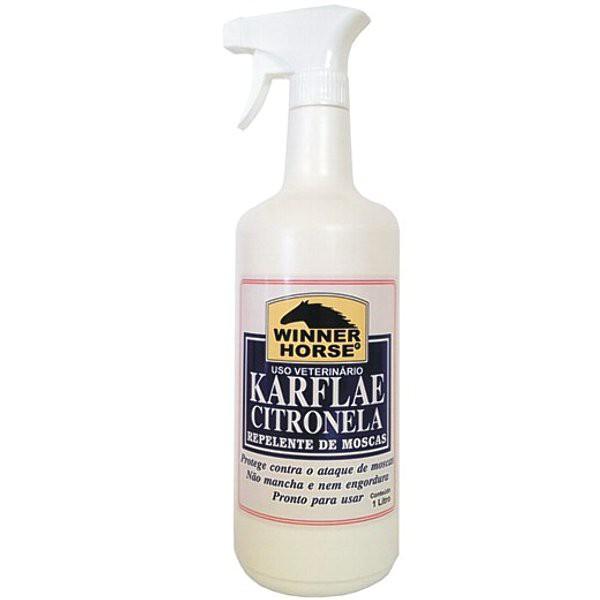 Karflae Citronela Spray com Aplicador - 1 Litro
