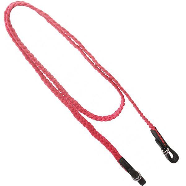 Rédea de Corda Trançada (Vermelha)