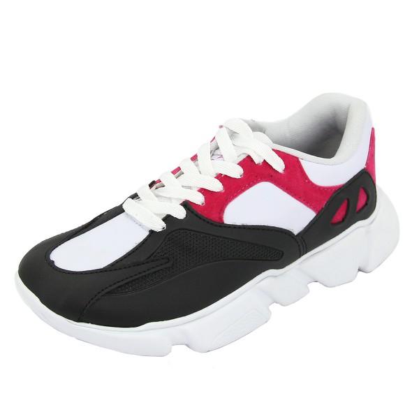 Tênis Chunky Sneaker Feminino Nesk By Selten Pink Frete Incluso