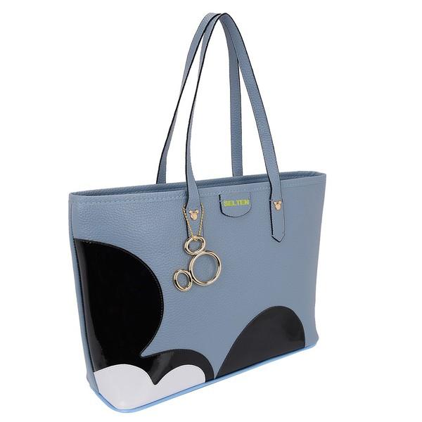 Bolsa Feminina Mickey Azul