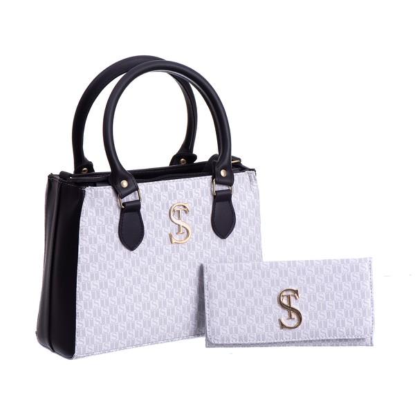 Bolsa Feminina Dubai Selten com Carteira Branca