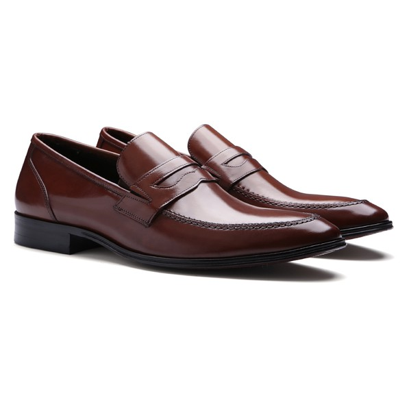 SAPATO MASCULINO PENNY LOAFER EM COURO