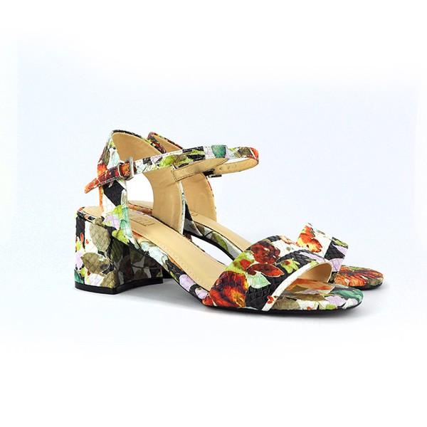 Sandália Floral