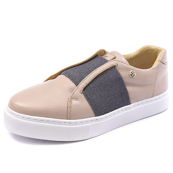 CASUAL FEMININO SHOES GRAND - 9640/3 Nude