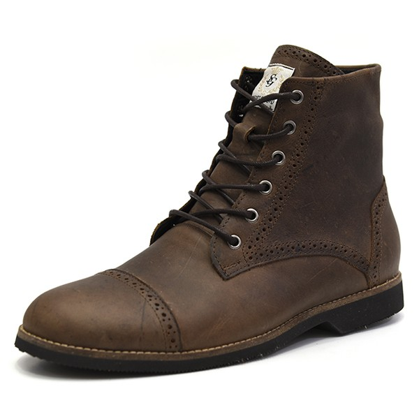 Bota Casual Masculina Shoes Grand 56160/1 Tabaco
