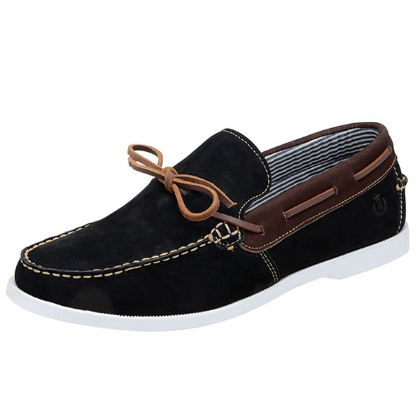 Mocassim Masculino Shoes Grand 4763/4 Preto/Café