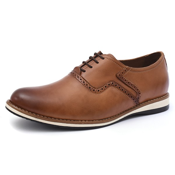 Sapato Social Oxford Shoes Grand 6920/1 Whisky