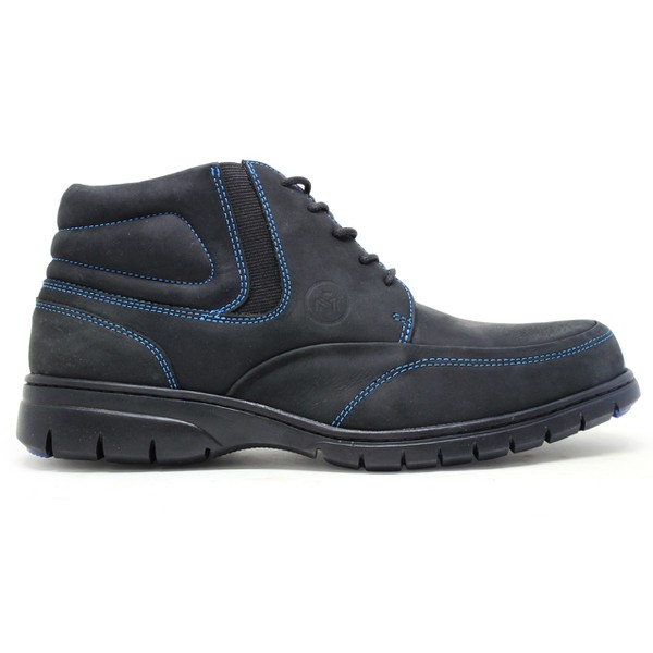 Coturno Masculino High Country Milonz 7078 Crazy Horse Onix