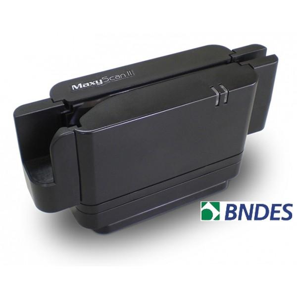 Leitor de DOC Cod/Barras e Cheques CMC7 Maxyscan II USB Com Bandeja