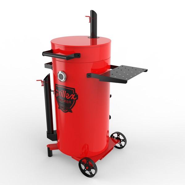 Grillex Drum Smoker Vermelho