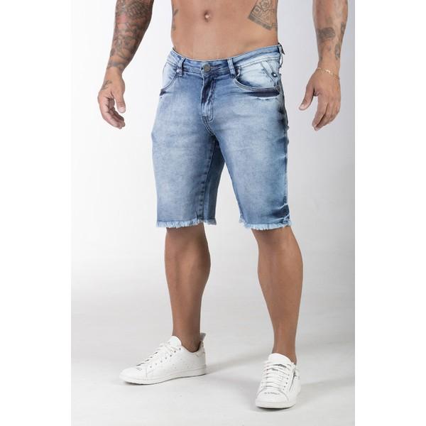 BERMUDA JJ Jeans Azul Claro