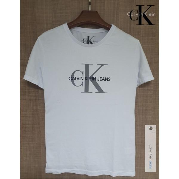 Camiseta CK Jeans Branca