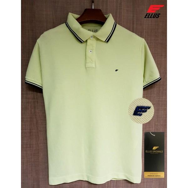 Camiseta Polo Ellus Amarela