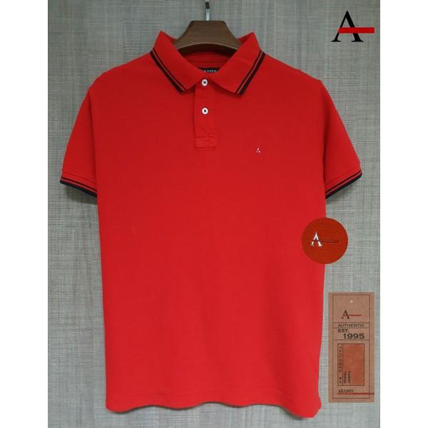 Camiseta Polo Aramis Vermelha