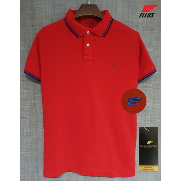 Camiseta Polo Ellus Vermelha
