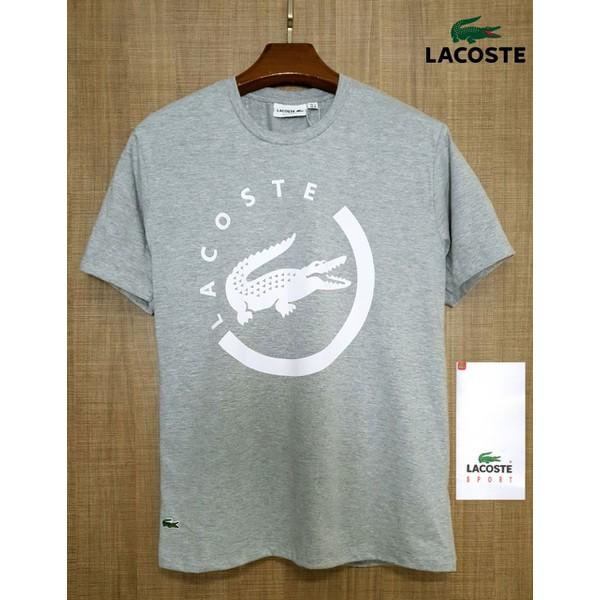 Camiseta Lacoste CINZA 2