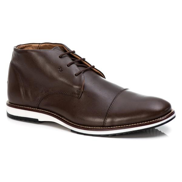 Sapato Brogue Premium em Couro Confort Tchwm Shoes