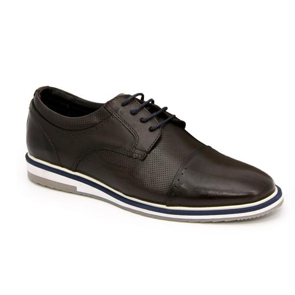 Brogue Esporte Fino Tchwm Shoes em Couro Nobre