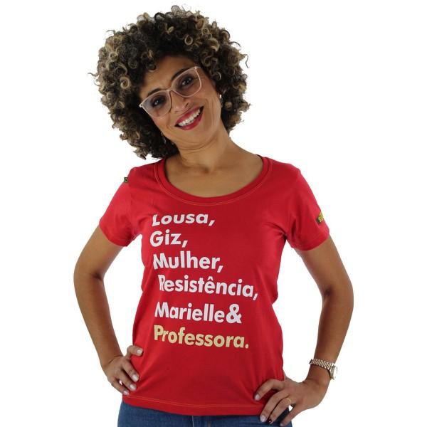 Babylook Marielle Professora Vermelha