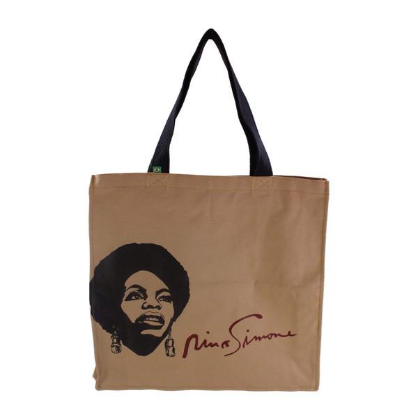 Bolsa Com Zíper Nina Simone Liberdade Cru