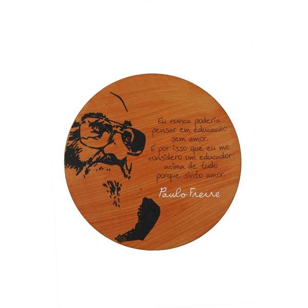 Quadrinho Redondo Paulo Freire Educação
